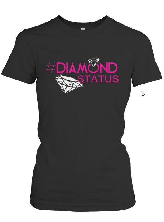 diamond status tshirt
